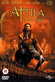 Tim Curry, Powers Boothe, and Gerard Butler in Attila (2001)