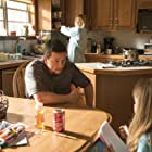 Mark Wahlberg, Kate Hudson, and Stella Allen in Deepwater Horizon (2016)