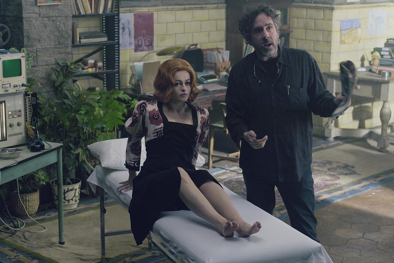 Helena Bonham Carter and Tim Burton in Dark Shadows (2012)