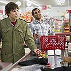 Jesse Eisenberg and Aziz Ansari in 30 Minutes or Less (2011)