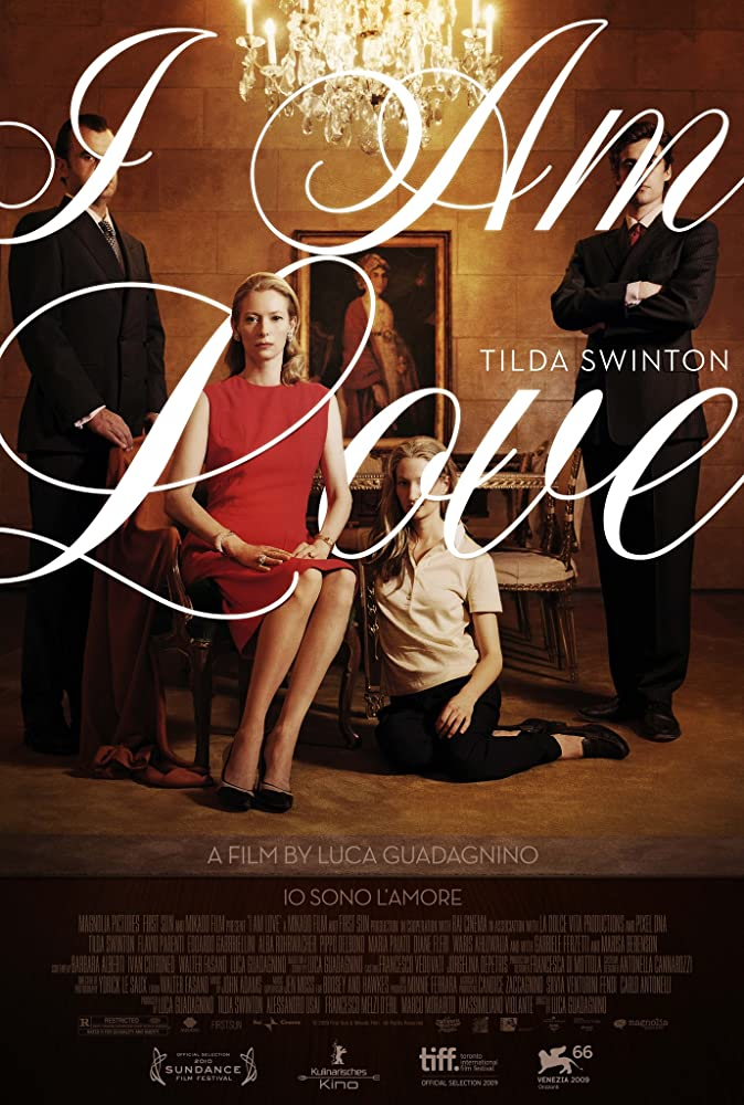 Tilda Swinton, Alba Rohrwacher, Pippo Delbono, and Flavio Parenti in Io sono l'amore (2009)