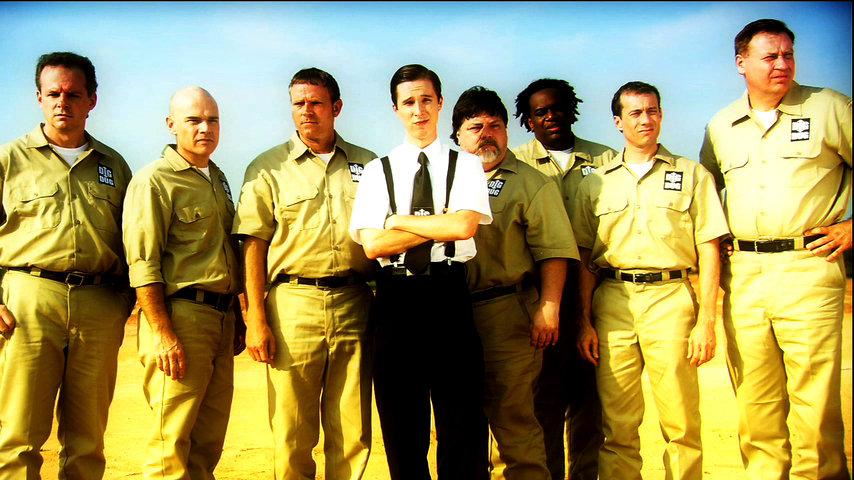 "Randy McDowell as (Avery Goodman) and the ""Dig Dug Team"""