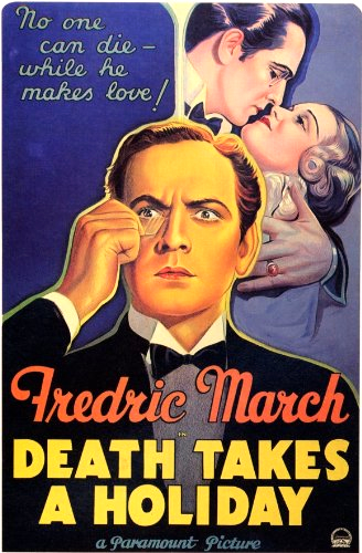 Fredric March and Evelyn Venable in Death Takes a Holiday (1934)