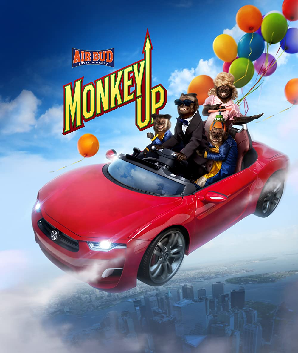 Monkey Up 2016 Hindi Dual Audio 720p BluRay ESubs 850MB Download
