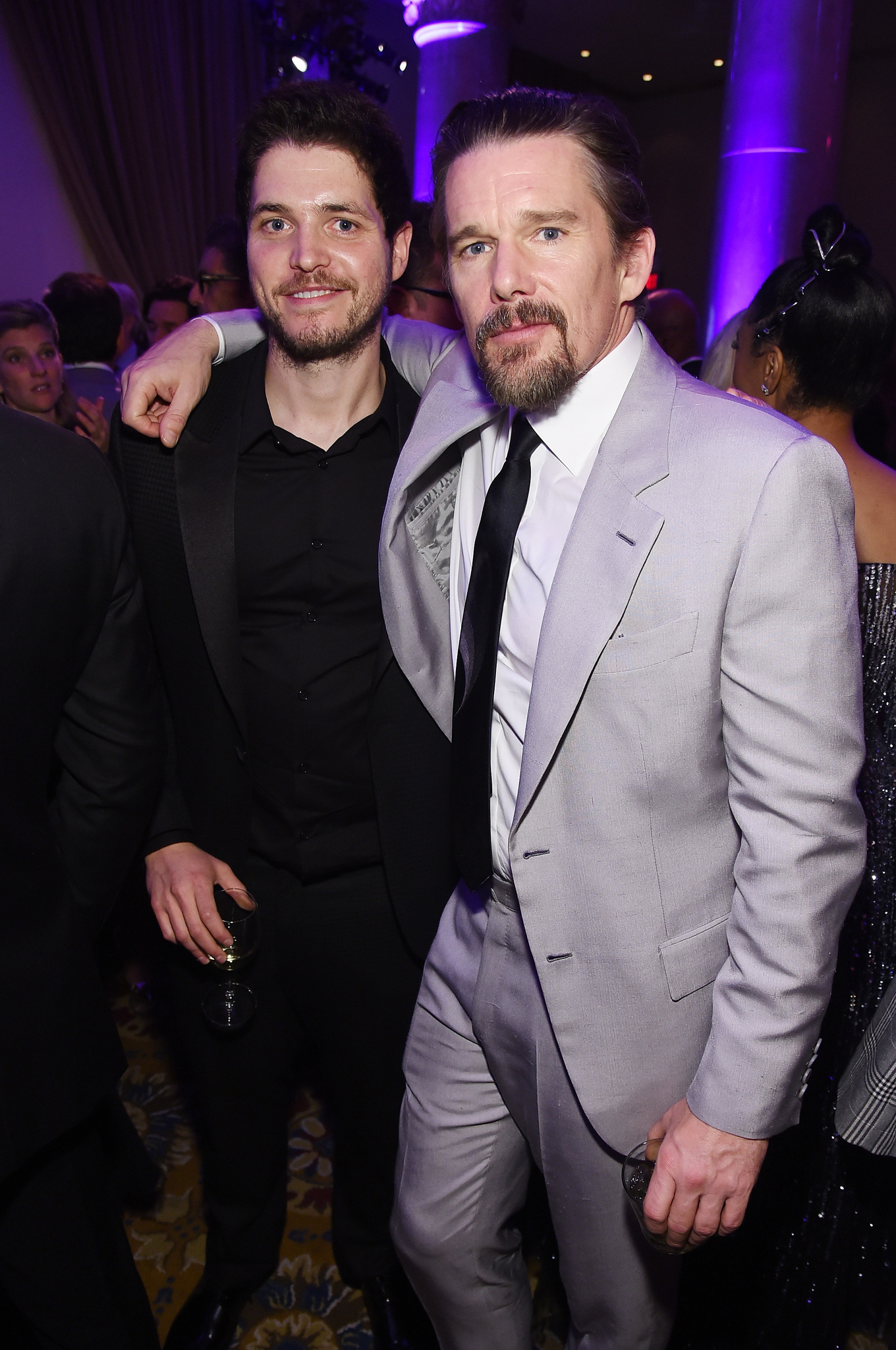 Ethan Hawke and Philip Ettinger