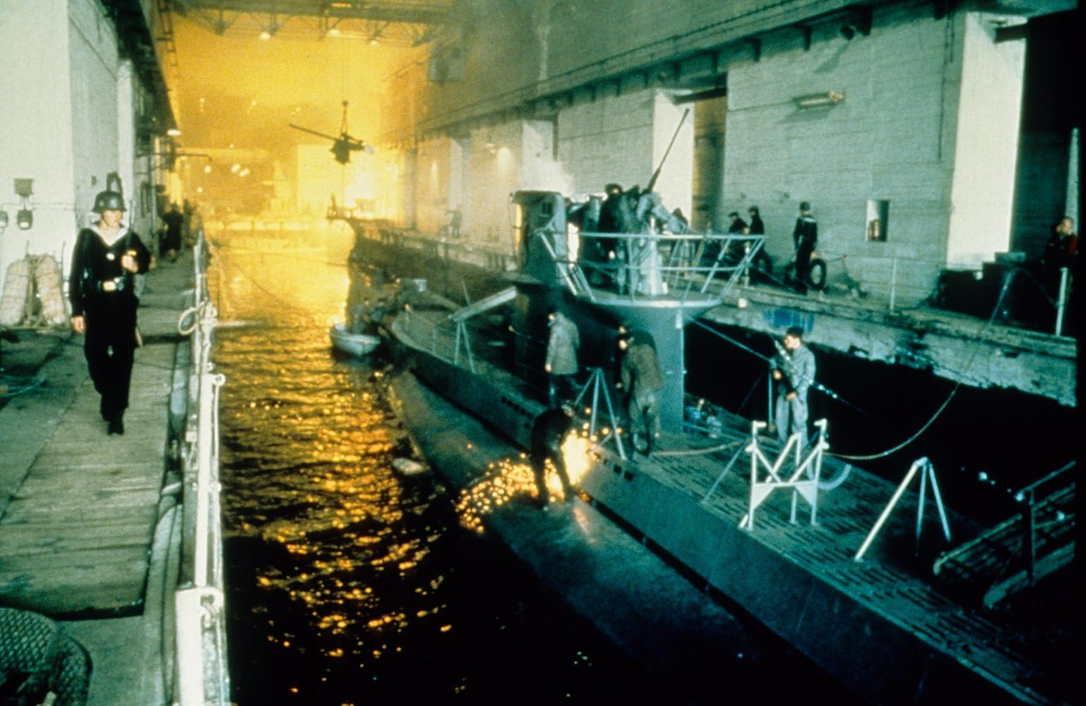 Sccene inside U-Boat pens