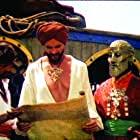 John Phillip Law, Martin Shaw, and Douglas Wilmer in The Golden Voyage of Sinbad (1973)