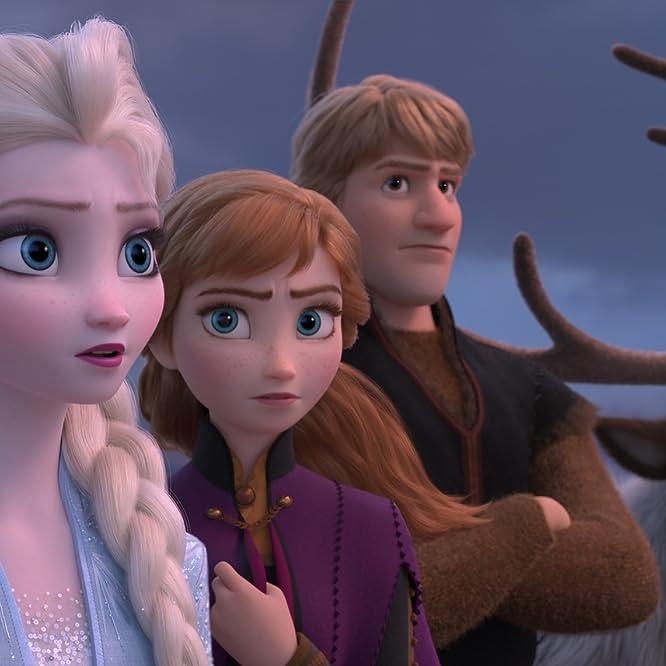 Kristen Bell, Idina Menzel, and Jonathan Groff in Frozen II (2019)