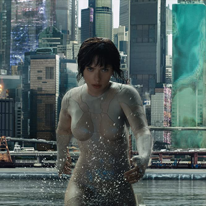 Scarlett Johansson in Ghost in the Shell (2017)