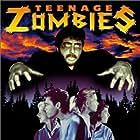 Mitzie Albertson, Nan Green, Brianne Murphy, Chuck Niles, and Paul Pepper in Teenage Zombies (1959)