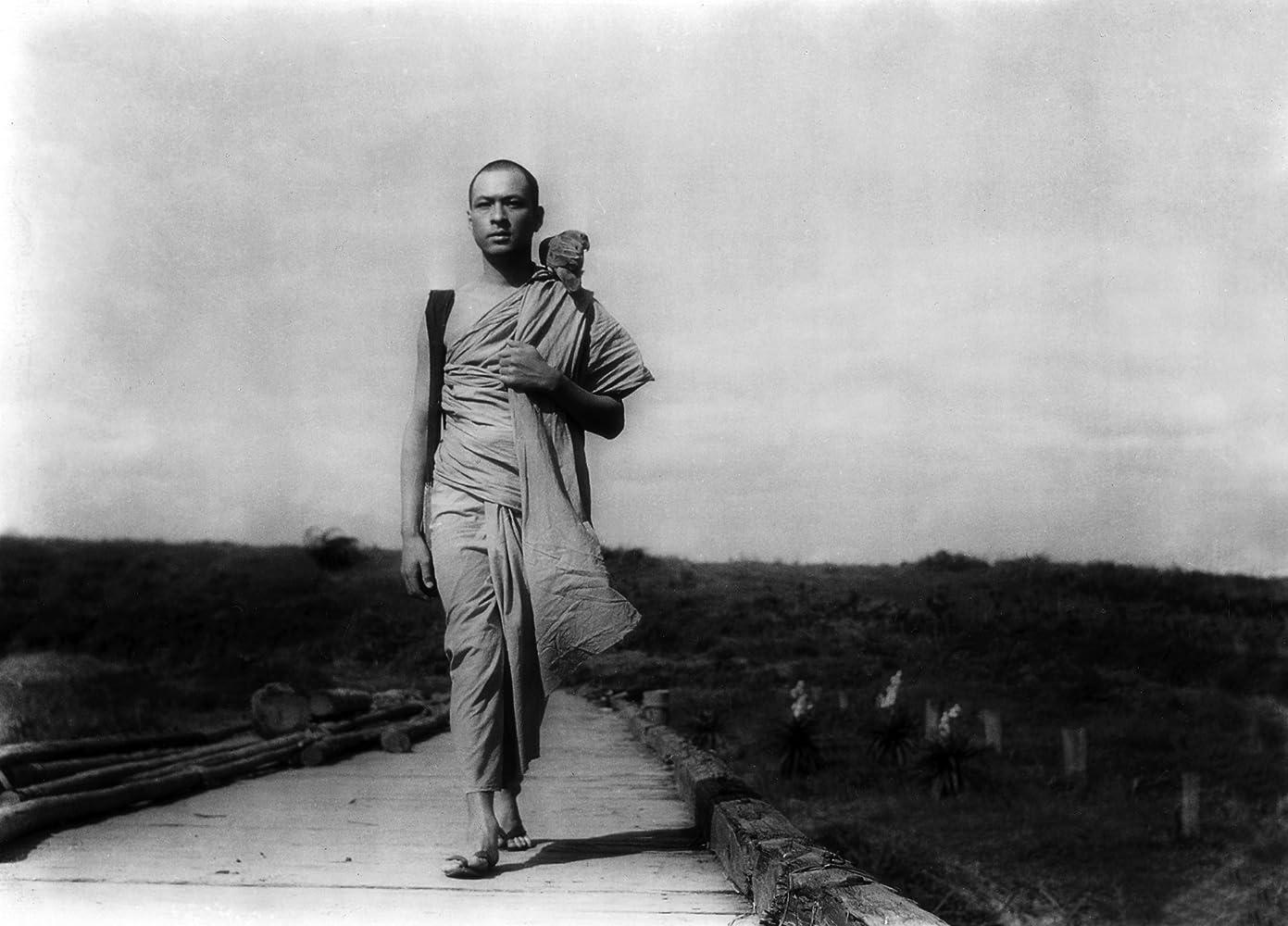 Shôji Yasui in Biruma no tategoto (1956)