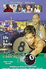 Up Against the 8 Ball Poster