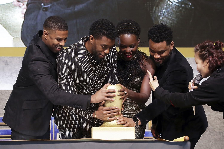 Para pemeran film Black Panther yang disutradarai oleh Ryan Coogler.