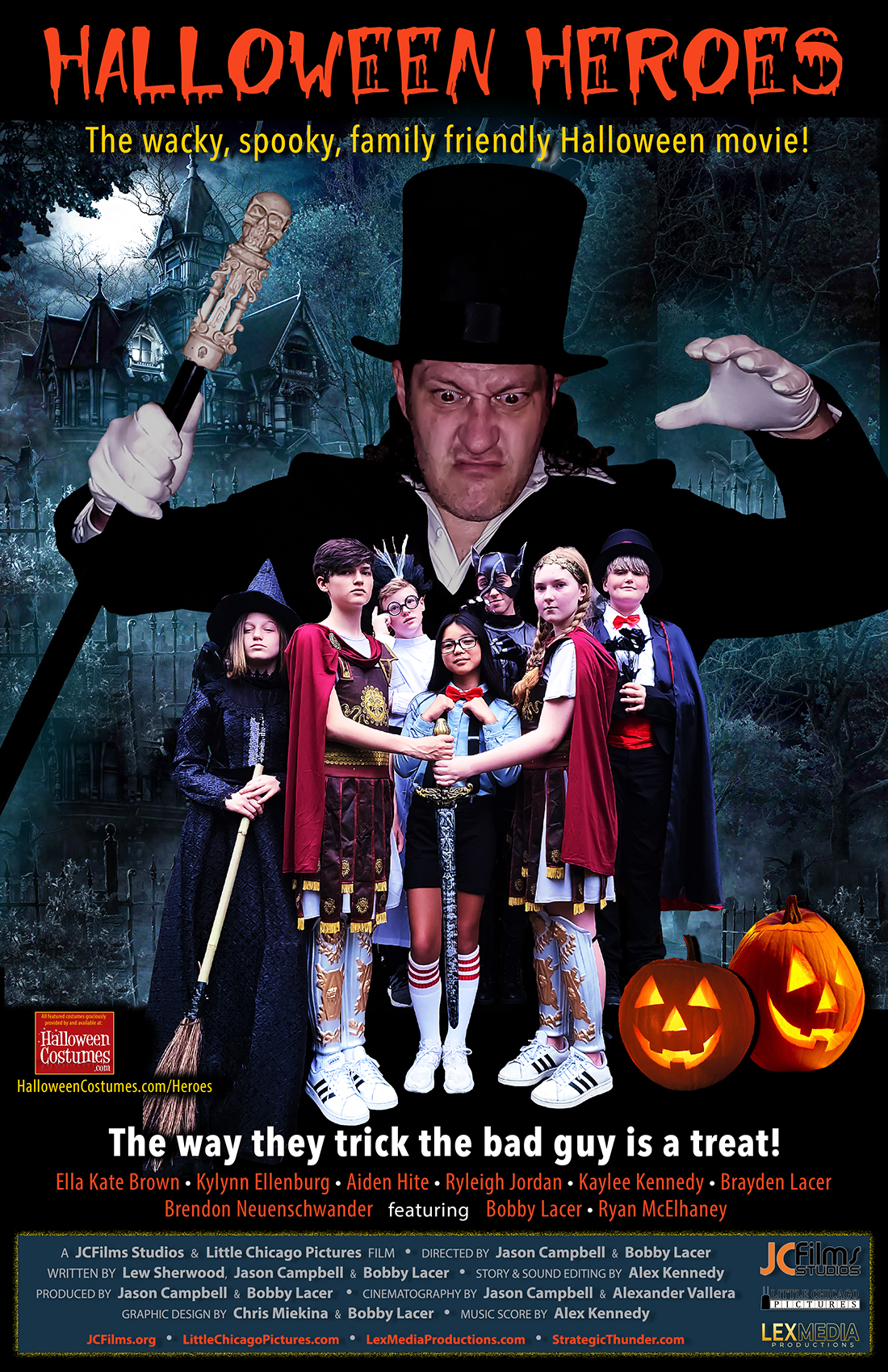 Halloween Heroes (2021) Hindi (Voice Over) Dubbed+ English [Dual Audio] WebRip 720p [1XBET]