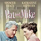 Katharine Hepburn and Spencer Tracy in Pat and Mike (1952)