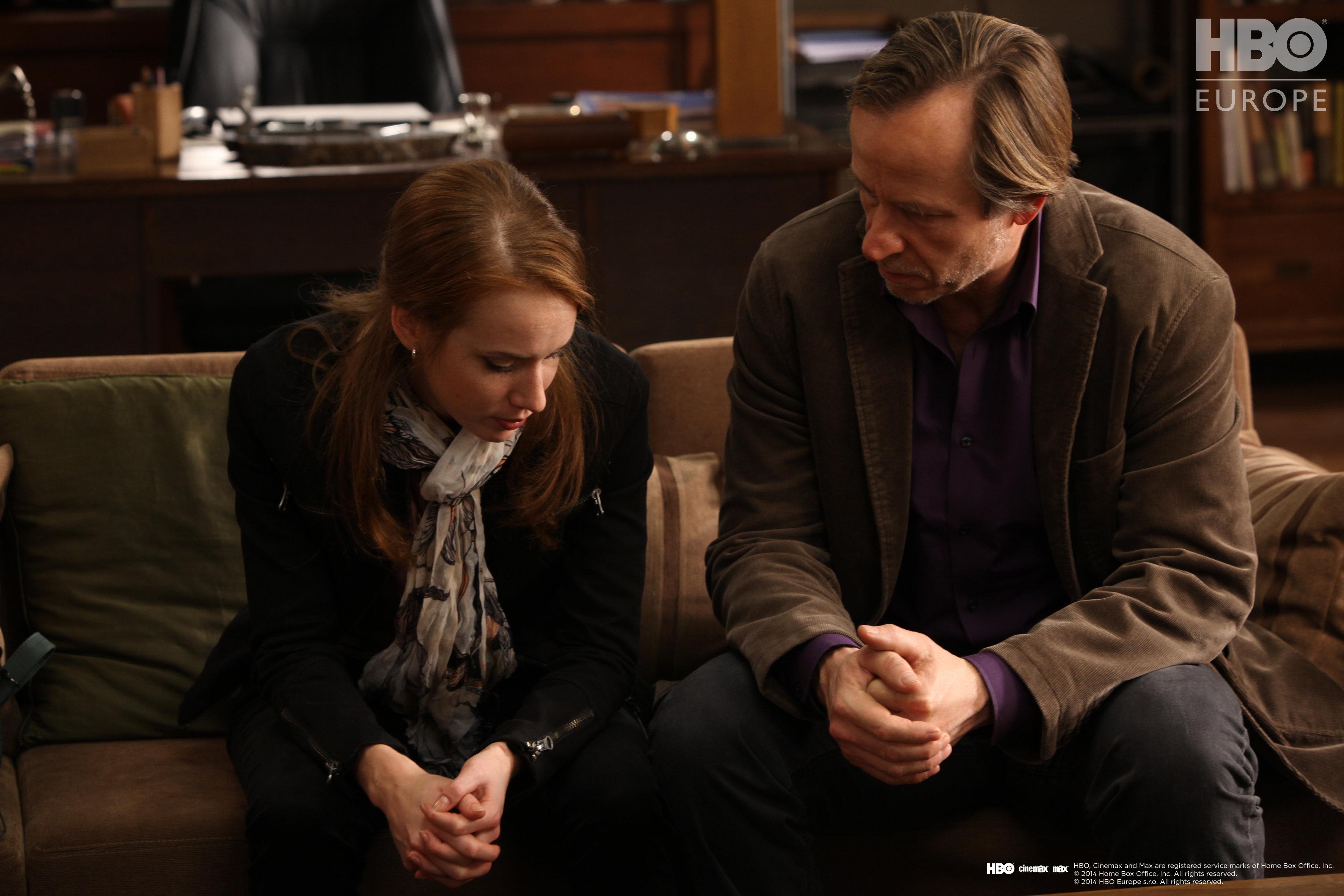 Karel Roden and Tatiana Pauhofová in Terapie (2011)