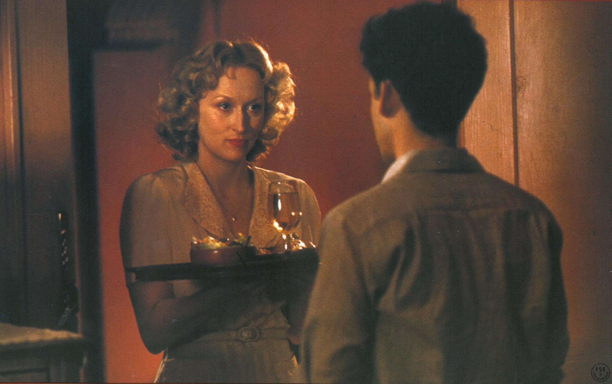 Meryl Streep and Peter MacNicol in Sophie's Choice (1982)