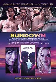 Camilla Belle, Sean Marquette, Silverio Palacios, Sara Paxton, and Devon Werkheiser in Sundown (2016)