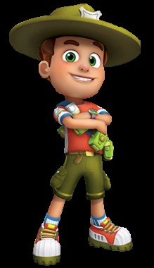 Jonah voices Ranger Rob on the animated series of the same name