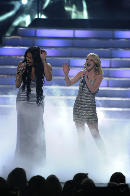 Jordin Sparks Thomas, Hollie Cavanagh, and Special Guest in American Idol: The Search for a Superstar (2002)