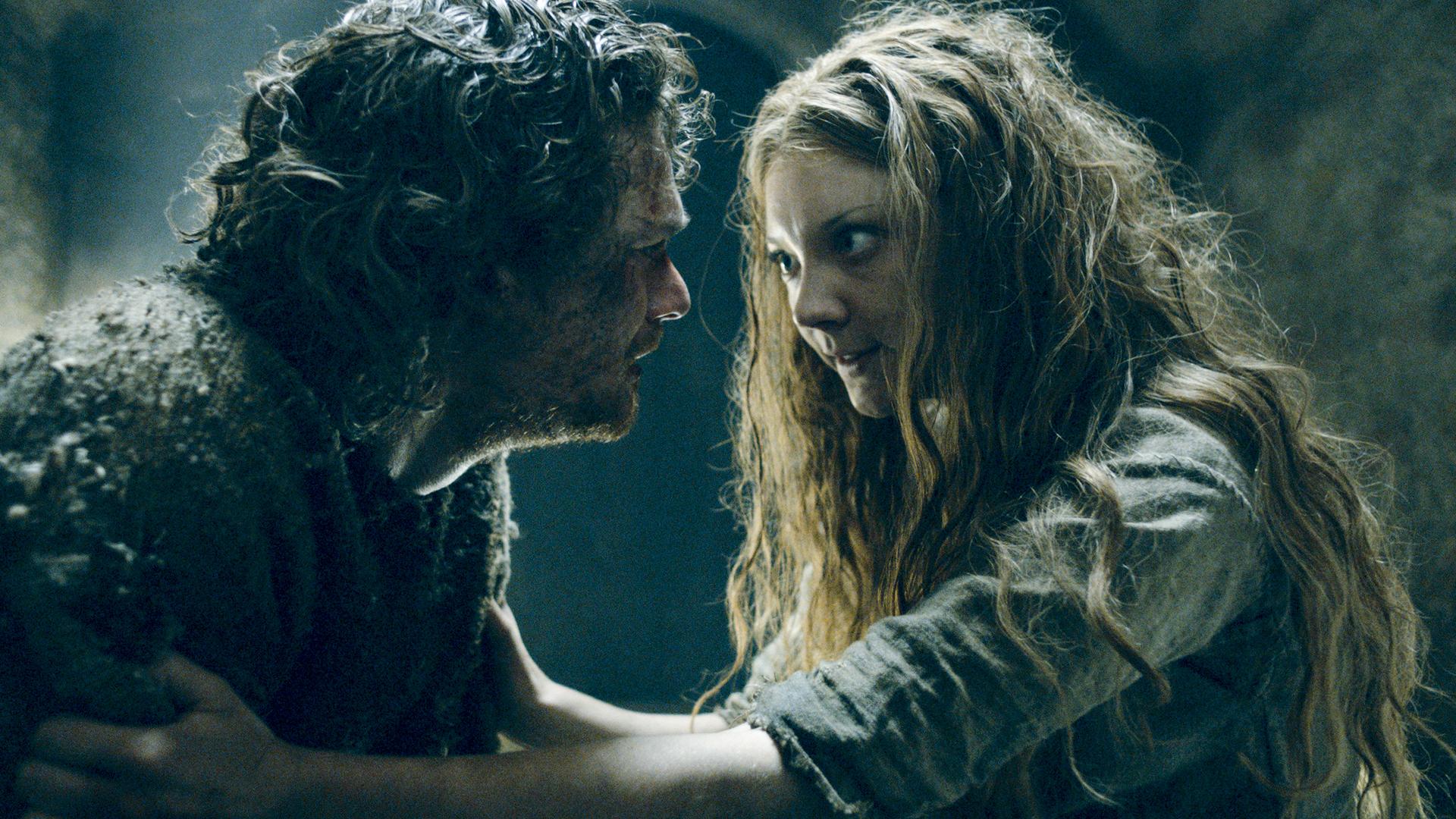 Natalie Dormer and Finn Jones in Game of Thrones (2011)