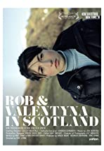 Rob and Valentyna in Scotland