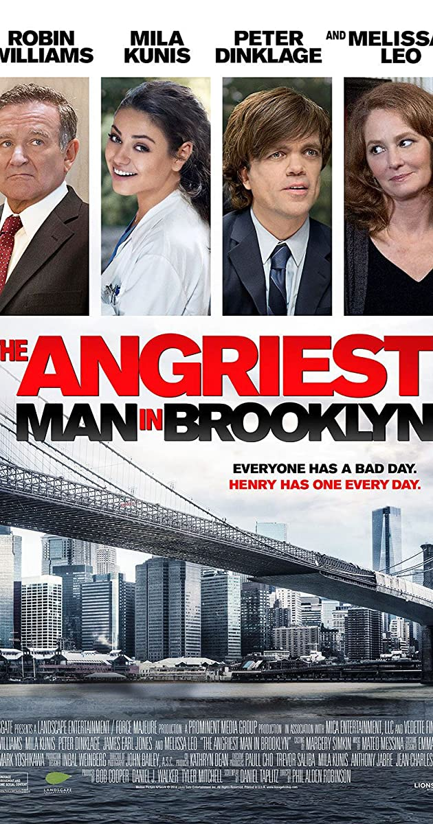 Subtitle of The Angriest Man in Brooklyn