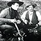 John Wayne and George 'Gabby' Hayes in The Lucky Texan (1934)