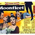 Stewart Granger, Joan Greenwood, and Viveca Lindfors in Moonfleet (1955)