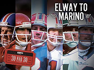 Watches movie Elway to Marino [2k]
