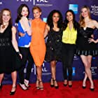 Rosario Dawson, Rachel Nichols, Zoë Bell, Allene Quincy, Tracie Thoms, and Nicole Steinwedell at an event for Raze (2013)