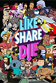 Like, Share, Die Poster