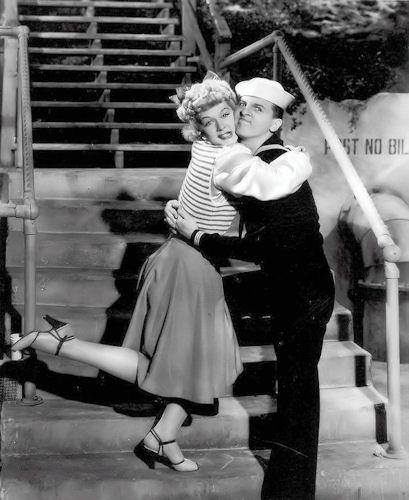 Betty Hutton and Eddie Bracken in The Fleet's In (1942)