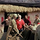 Charles Bronson and Robert Aldrich in The Dirty Dozen (1967)