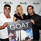 Al D'Menna, Lorraine Ziff and Paul Borghese at GOAT red carpet