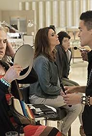 Gaby Hoffmann, Jeffrey Tambor, Amy Landecker, and Hank Chen in Transparent (2014)