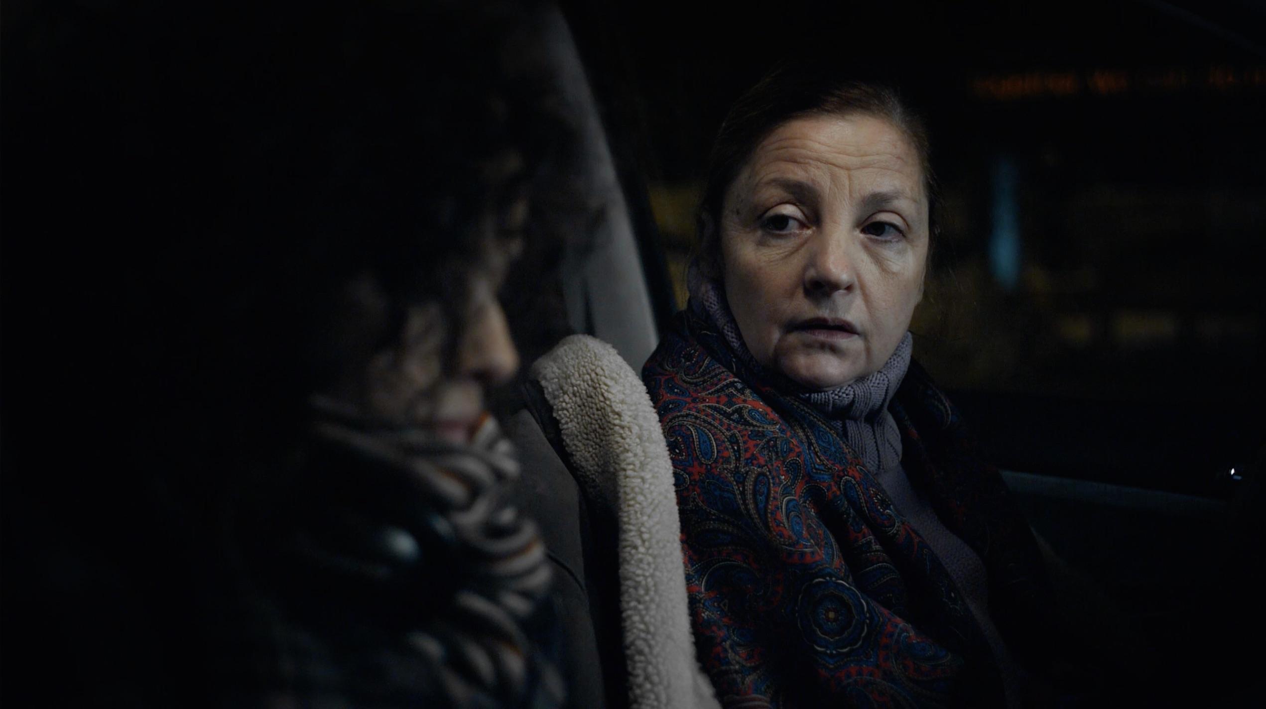 Rodica Negrea and Madalina Craiu in Blu (2012)