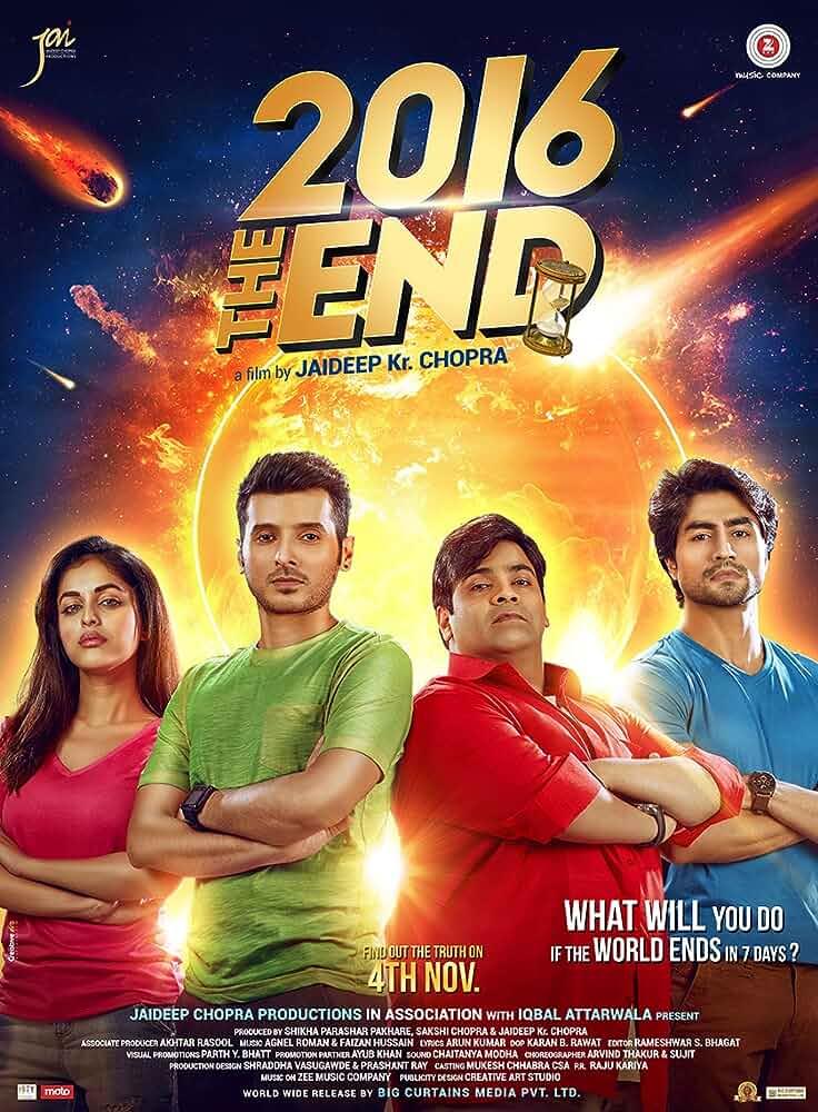 2016 the End (2017) Hindi WEB-HDRip - 480P   720P   1080P - x264 - 400MB   1.1GB   3.5GB - Download & Watch Online  Movie Poster - mlsbd