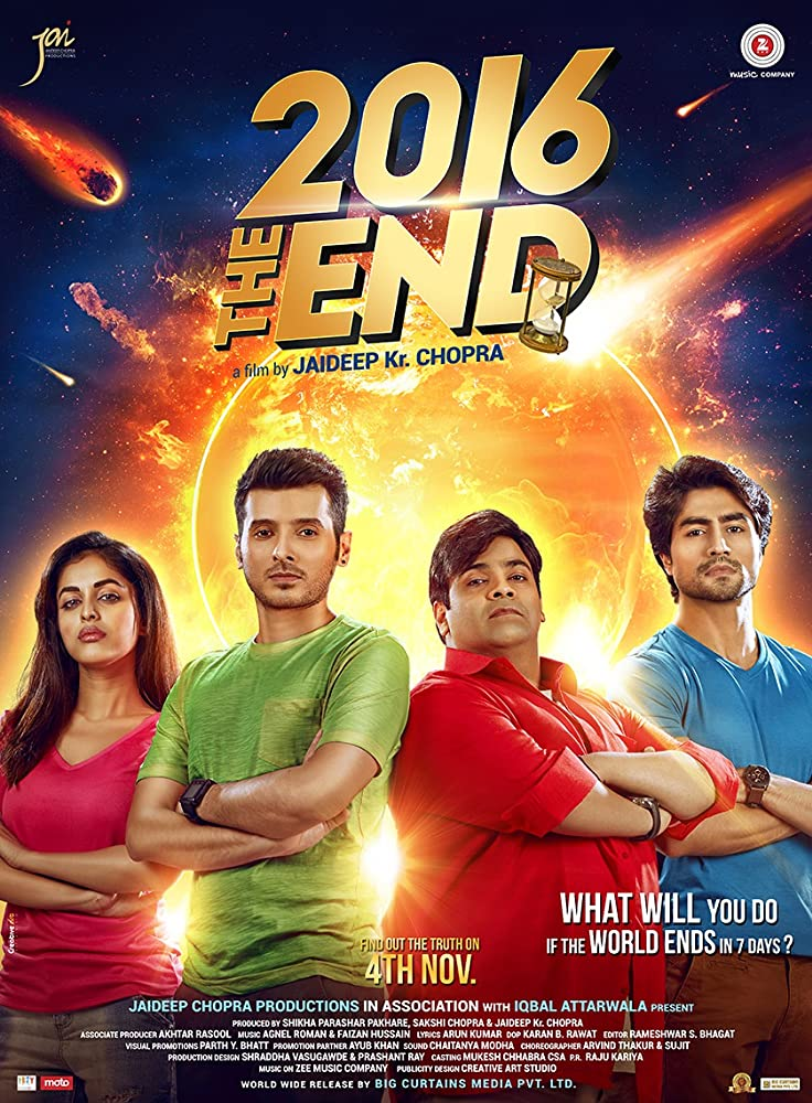 2016 The End 2017 Hindi Movie 400MB HDRip ESub Download