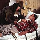 Kathy Bates and James Caan in Misery (1990)