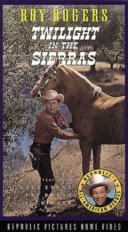 Roy Rogers and Trigger in Twilight in the Sierras (1950)