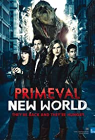 Yan-Kay Crystal Lowe, Niall Matter, Sara Canning, and Danny Rahim in Primeval: New World (2012)