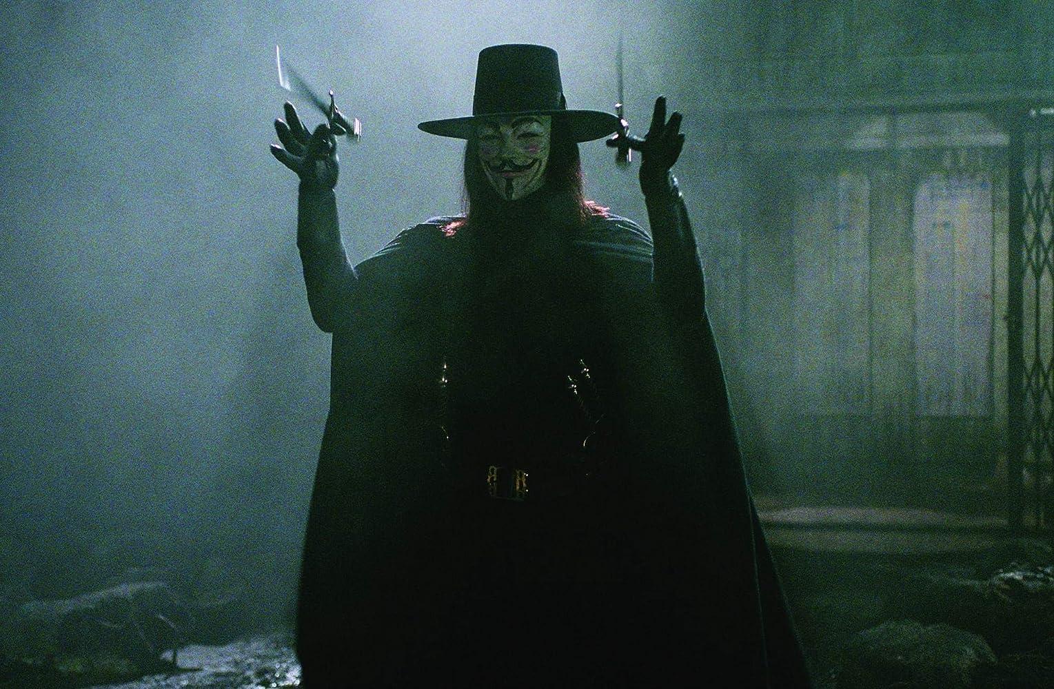 Hugo Weaving in V for Vendetta (2005)
