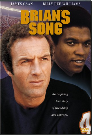 James Caan and Billy Dee Williams in Brian's Song (1971)