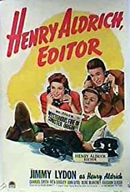 Jimmy Lydon, Rita Quigley, and Charles Smith in Henry Aldrich, Editor (1942)
