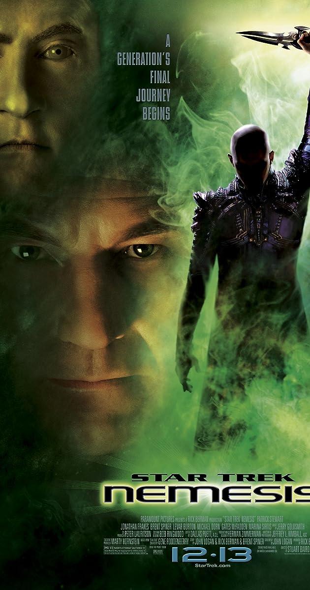 Subtitle of Star Trek: Nemesis