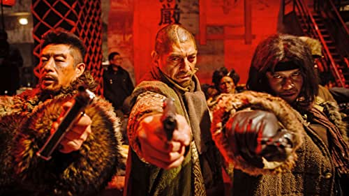 A ruthless bandit ruling the lands of Northeast China from his fortress on Tiger Mountain finds his domain challenged by a captain of the Liberation Army, who teams up with a skilled investigator sent to destroy the gang from the inside.
