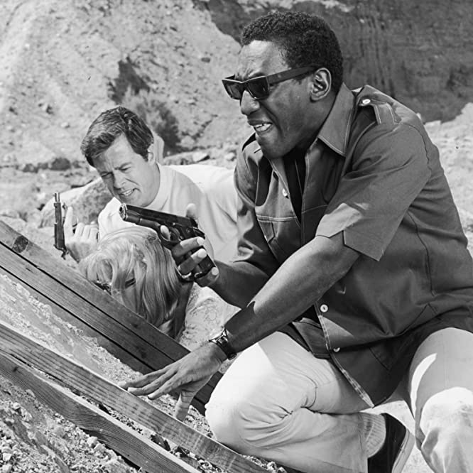 Bill Cosby and Robert Culp in I Spy (1965)