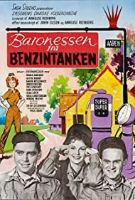 Ghita Nørby, Dirch Passer, and Ove Sprogøe in Baronessen fra benzintanken (1960)