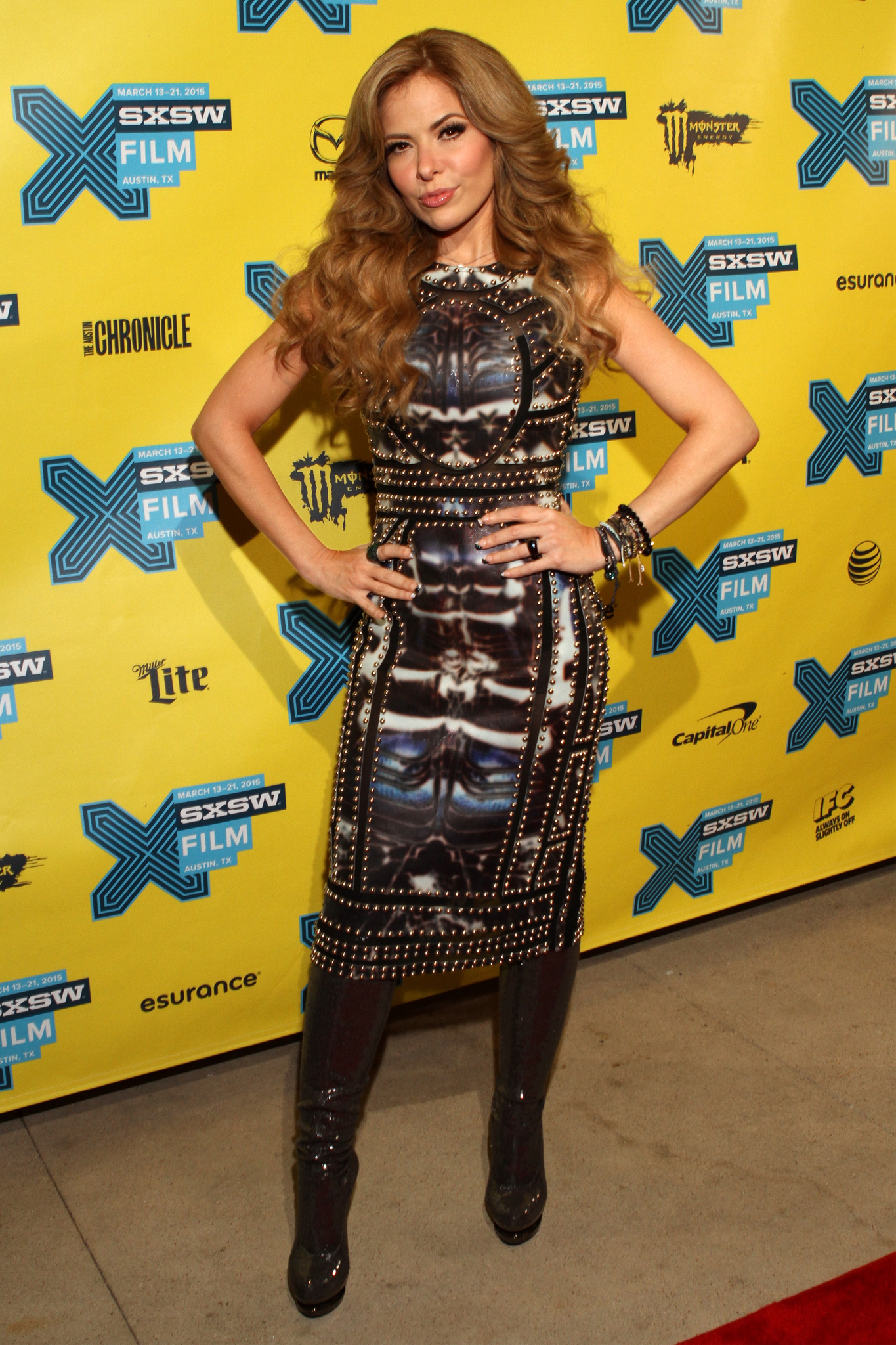 Gloria Trevi at an event for Gloria (2014)